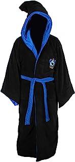 Harry Potter All Houses Adult Fleece Hooded Bathrobe (One Size)