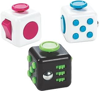 Fun Express Fidget Busy Blocks (Set of 6) Active Play Bulk Toys
