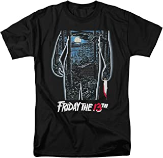 Friday The 13th Movie Poster T Shirt & Stickers