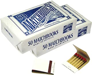 100 Plain White Matches Matchbooks for Wedding Birthday Wholesale Made in America