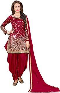 Bollywood Designer Bridal Patiyala Dhoti Salwar kameez Suit Dupatta Custom to Measure Muslim 19