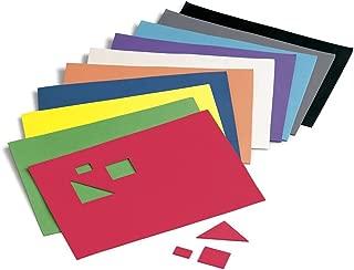 Faibo 218768 - Pack de 10 láminas de goma Eva, 20 x 30 cm, multicolor