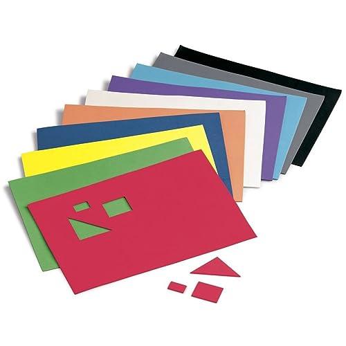 Faibo 218768 - Pack de 10 láminas de goma Eva, 20 x 30 cm,