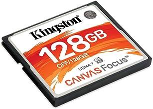 Kingston Canvas Focus Carte mémoire compacte Flash, 128 GB