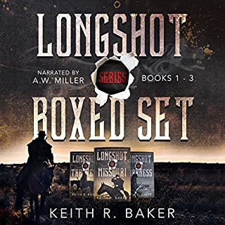 Longshot Series Boxed Set audiobook cover art