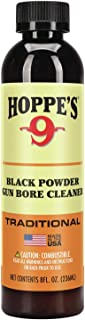 Hoppe's No. 9 Black Powder Gun Bore Cleaner and Patch Lubricant, 8 oz. Bottle