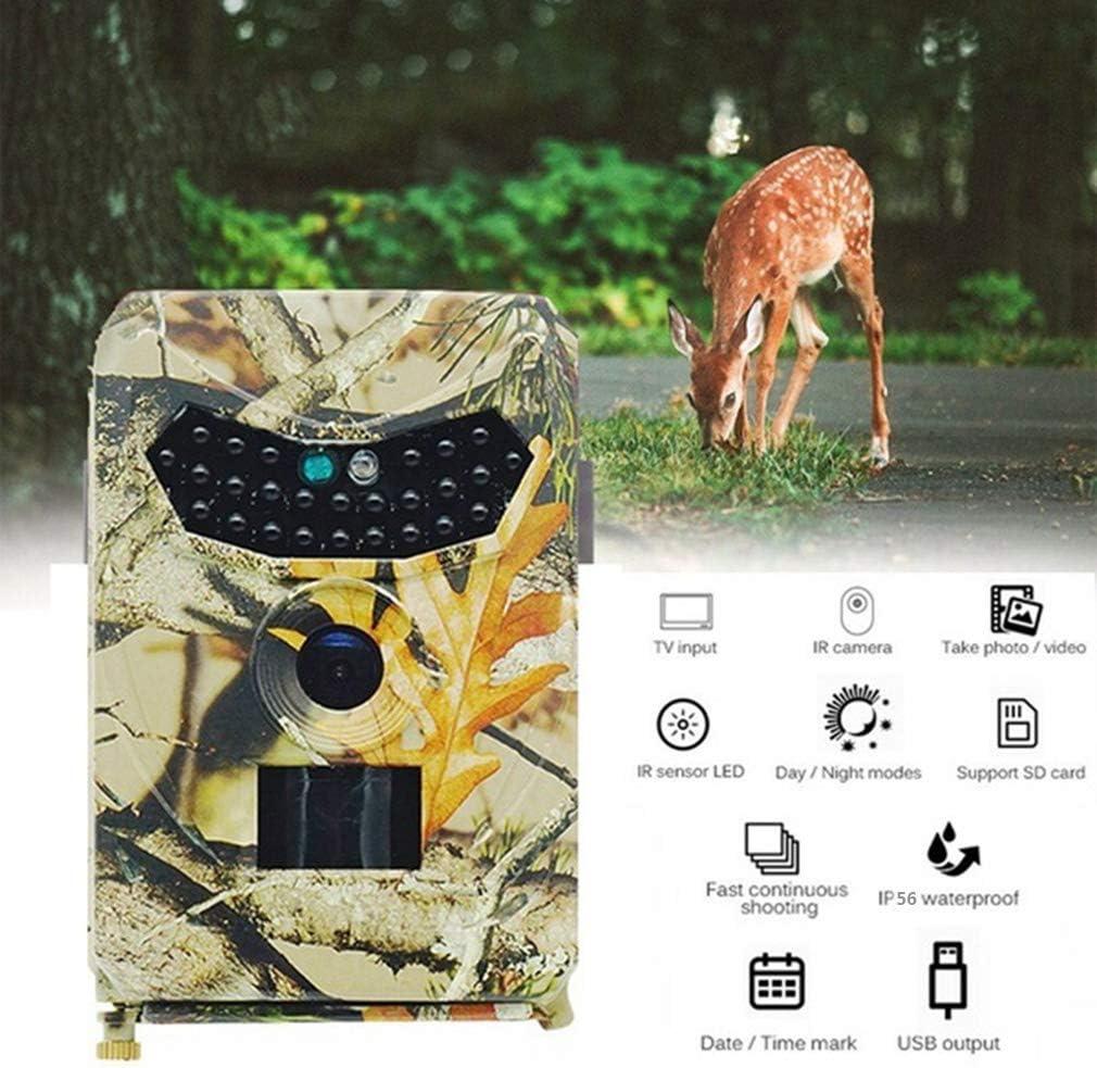 Booding C/ámara de Caza 12MP 1080P C/ámara de vigil/ància Dise/ño Impermeable IP56 C/ámara de Fototrampeo para Seguimiento Cineg/ético de Fauna