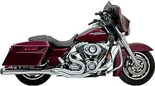 Bassani Xhaust 06-16 Harley FLHX2 B4 2-Into-1 Exhaust with Megaphone Muffler (Chrome)