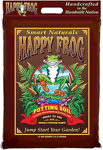FoxFarm FX14082 Happy Frog Bag, 12 Quart Potting Soil, Brown