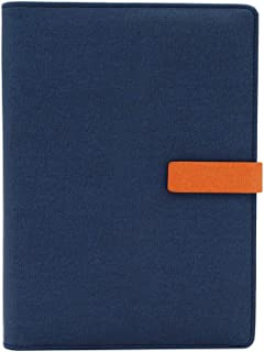 WCR A5 Executive Personal Organiser Ruled Notebook, Soft Cover Refillable Diaries, Journals & Notebooks