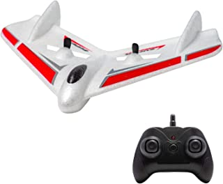 OTTCCTOY RTF RC Plane, 2CH Remote Control Ghost Airplane Indoor Outdoor 2.4GHz Radio Control Aircraft for Kids Boys Beginner