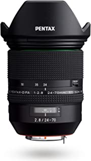 HD PENTAX-D FA 24-70mmF2.8ED SDM WR High-Performance Standard Zoom Lens 24mm Ultra-Wide Angle Weather-Resistant Constructi...