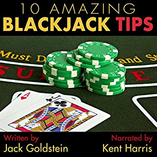10 Amazing Blackjack Tips audiobook cover art