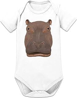 Shirtcity Hippo Nilpferd Baby Strampler by