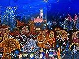 【額装】 ヒロ ヤマガタ 「メモリーオブエレクトリカルパレード」 シルクスクリーン 山形博導 大判 Disney