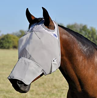 Cashel Crusader Horse Fly Mask with Long Nose
