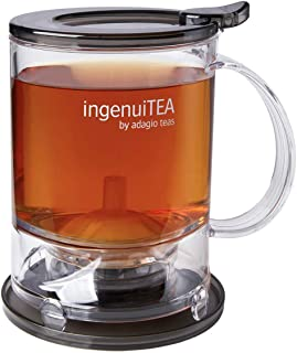 Adagio Teas IngenuiTEA 2 Bottom Dispensing Teapot, 16 oz.