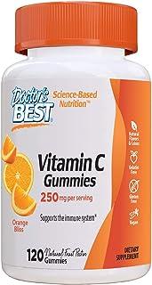 Doctor's Best Vitamina C 250 Mg. Orange Bliss - 120 Gomitas 120 Unidades 410 g