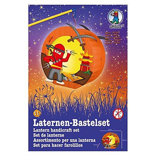 Ursus Laternen-Bastelset Easy Line (nur Laterne, Ninja)
