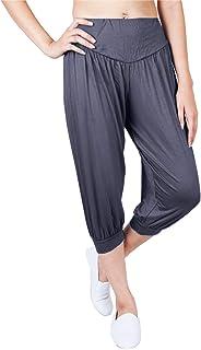 LOFBAZ Yoga Pants for Women Maternity PJs Pajamas Sweatpants Lounge Harem Dance