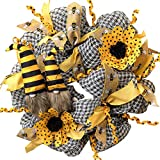 Dingyue Corona de muñeca sin rostro para decoración de primavera, decoración...