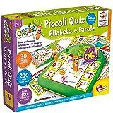Lisciani Giochi Carotina Piccoli Quiz, Alfabeto e Parole