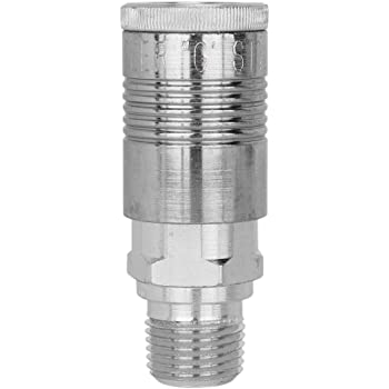 Eldon James RN4-2WN Industrial White Nylon Conversion Reduction Nipple Pack of 10 1//8-27 NPT Thread to 1//4-18 NPT Thread
