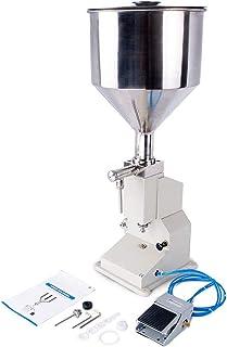 Susemse A02 Machine de remplissage de liquide pneumatique - pour eau, huile, liquide, crème, miel, soin de la peau - 20-60...