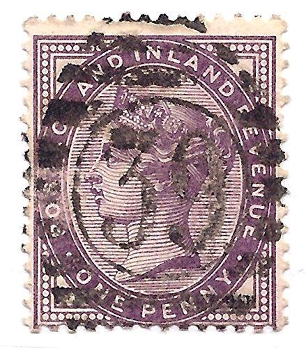 Great Britain (UK) England 1881 Postage Stamp 1 Penny Queen Victoria Scott #89