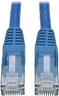 Tripp Lite Cat6 Gigabit Snagless Molded Patch Cable (RJ45 M/M) - Blue, 25-ft.(N201-025-BL)