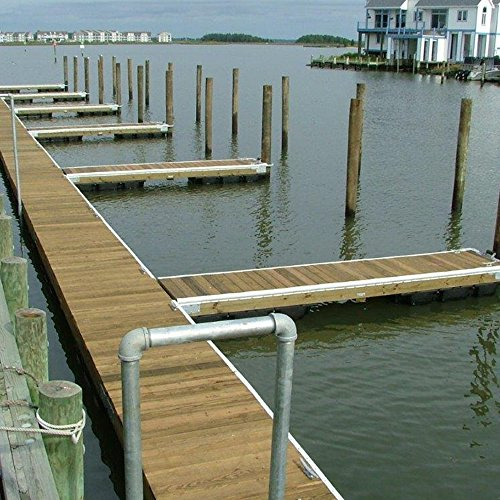 Dimex EasyFlex Plastic P-Profile Dock Edging, 25-Feet, White (5000W-25C)