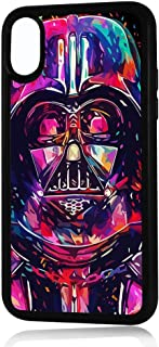 (for iPhone Xs/iPhone X) Durable Protective Soft Back Case Phone Cover - HOT30270 Starwars Darth Vader