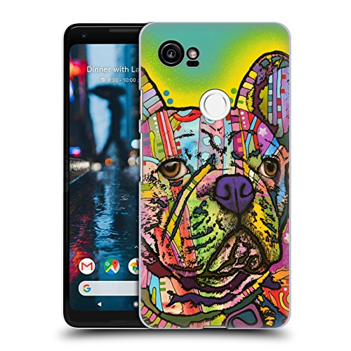 Head Case Designs Officially Licensed Dean Russo French Bulldog Dogs Hard Back Case Compatible with Google Pixel 2 XL