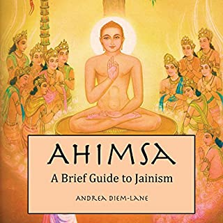 Ahimsa audiobook cover art