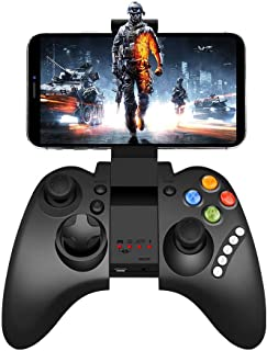 Mobile Game Controller, Mutop PG-9021 Mobile Gaming Wireless Bluetooth Controller Gamepad Joystick Supports Android 3.2 Above PC/System (PG-9021)
