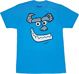 Monster's Inc. Sulley and Mike Wazowski Face T-Shirt