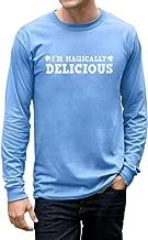 Tstars Men's - I'm Magically Delicious Long Sleeve T-Shirt