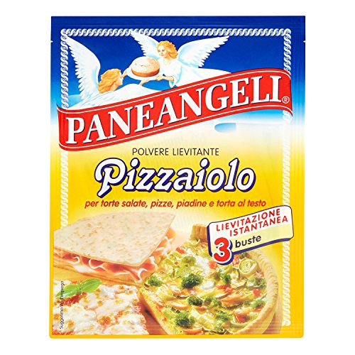paneangeli 3/X dried yeast for Pizza /& Bread 3/X 15g