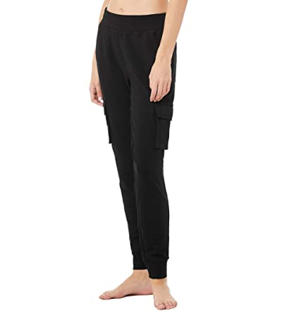 ALO Unwind Cargo Pants (Black) Women