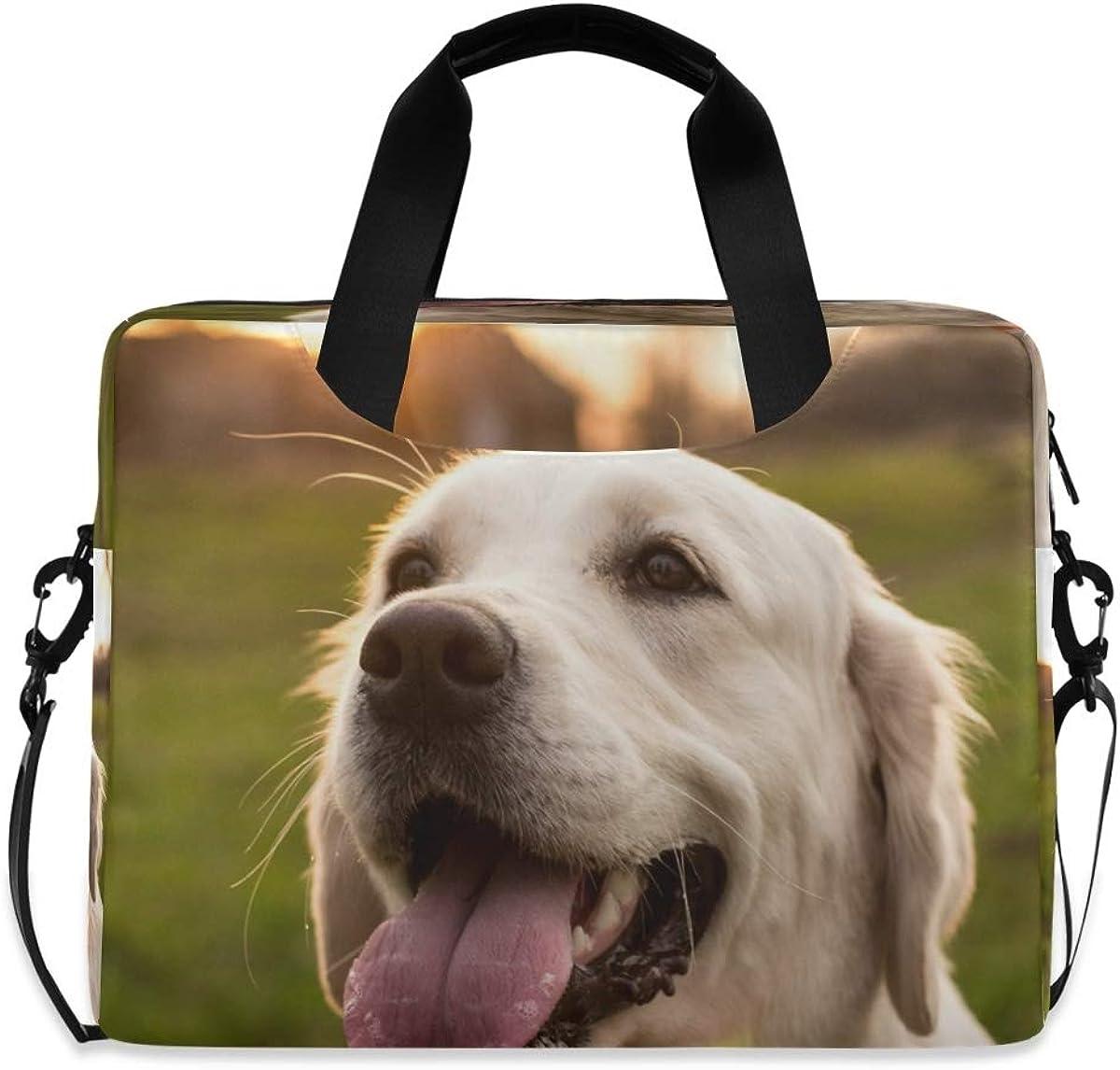 Large discharge sale LELEGO Cute Puppy Alternative dealer Sunset Bag Laptop Shoulder Carrying