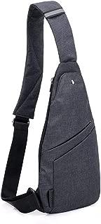 TOLOG Sling Bag Water Resistant Crossbody Personal Pocket Bag Lightweight Chest Shoulder Backpack for Travel Hiking