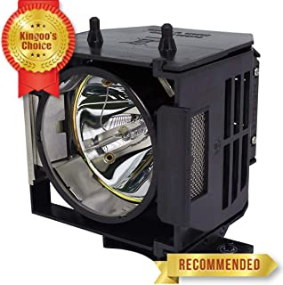 Kingoo Excellent Projector Lamp for EPSON EMP-61 EMP-81 EMP-81+ EMP-821 EMP-828 PowerLite 61p PowerLite 81p PowerLite 821P Replacement Projector Lamp Bulb with Housing