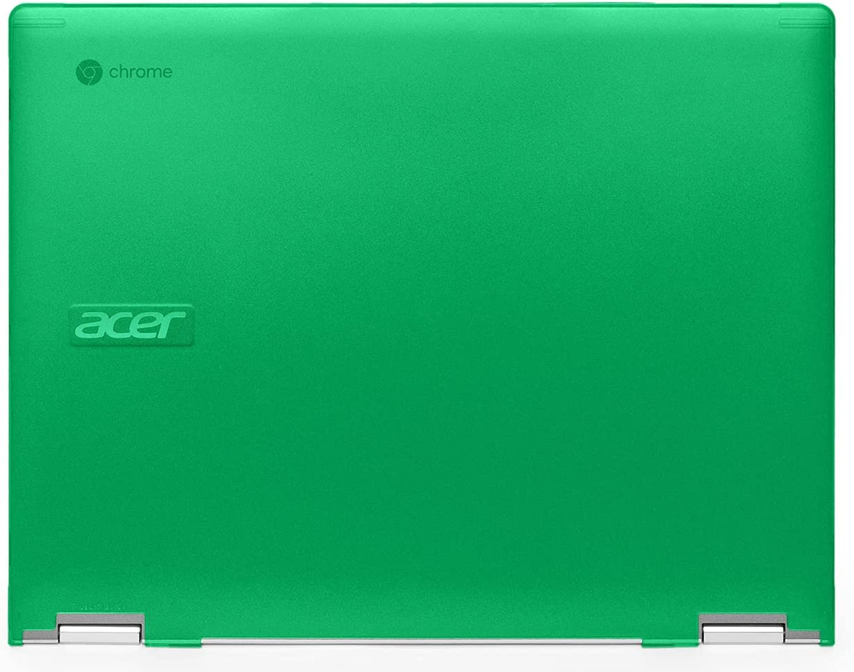 mCover Hard Shell Case Compatible with 2020 / 2021 Acer Chromebook Spin 713 CP713-2WN Series (NOT Compatible with All Other Acer Chromebooks ) - AC-SP13-CP713-2WN Green