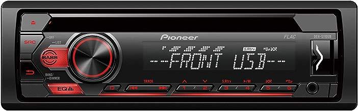 Pioneer DEH-S110UB DEH-S110UB-Sintonizador RDS con CD, Color, Negro