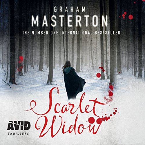 Scarlet Widow audiobook cover art
