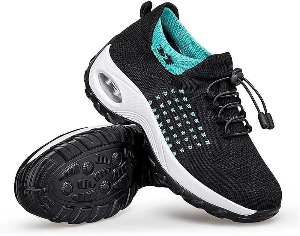 tengfei Socks Shoes Women Spring and Autumn Mesh Sports Shoes Lo