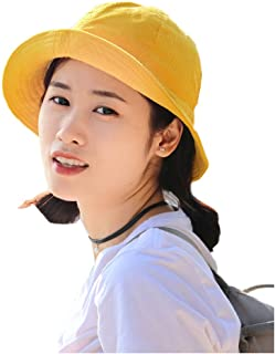 Finaze Fashion Bucket Hat Breathable Casual Sun Protection for Travel  Camping 3bd9c0fcfce0