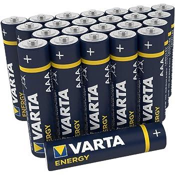 Vatra Energy - Pack de 24 Pilas Alcalinas AAA / LR03 / Micro ...
