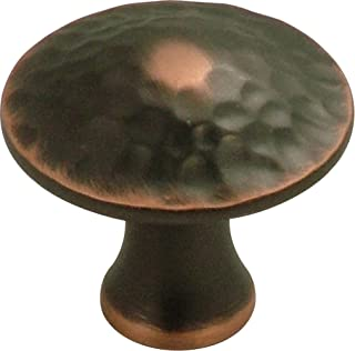Hickory Hardware P2170-OBH 1-1/4-Inch Craftsman Knob, Oil-Rubbed Bronze Hightlighted