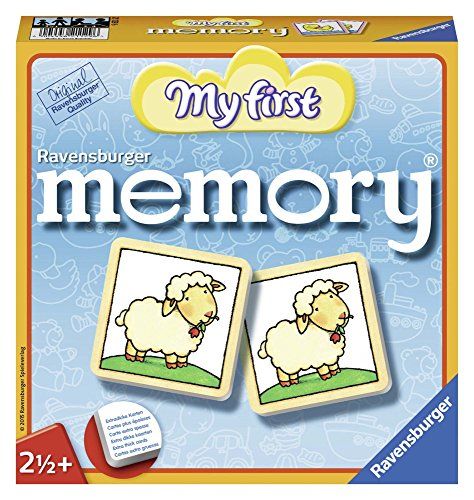 Ravensburger Italy- Rav My First Memory 21129, Multicolore, 878148